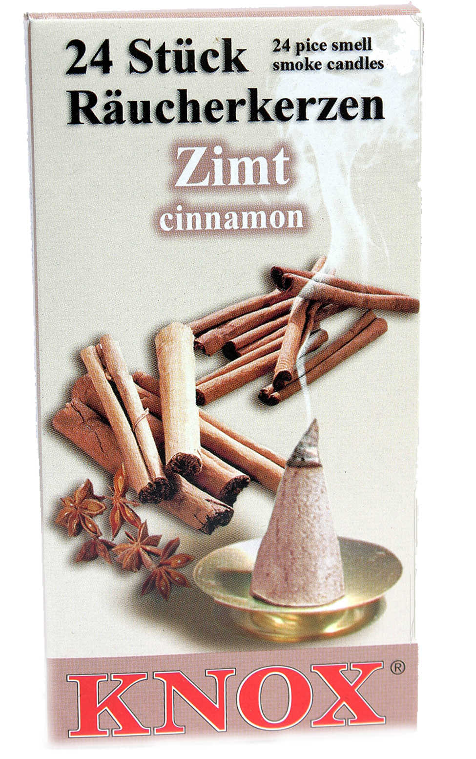 013240 Cinnamon Scented Cone Incense for Smokers