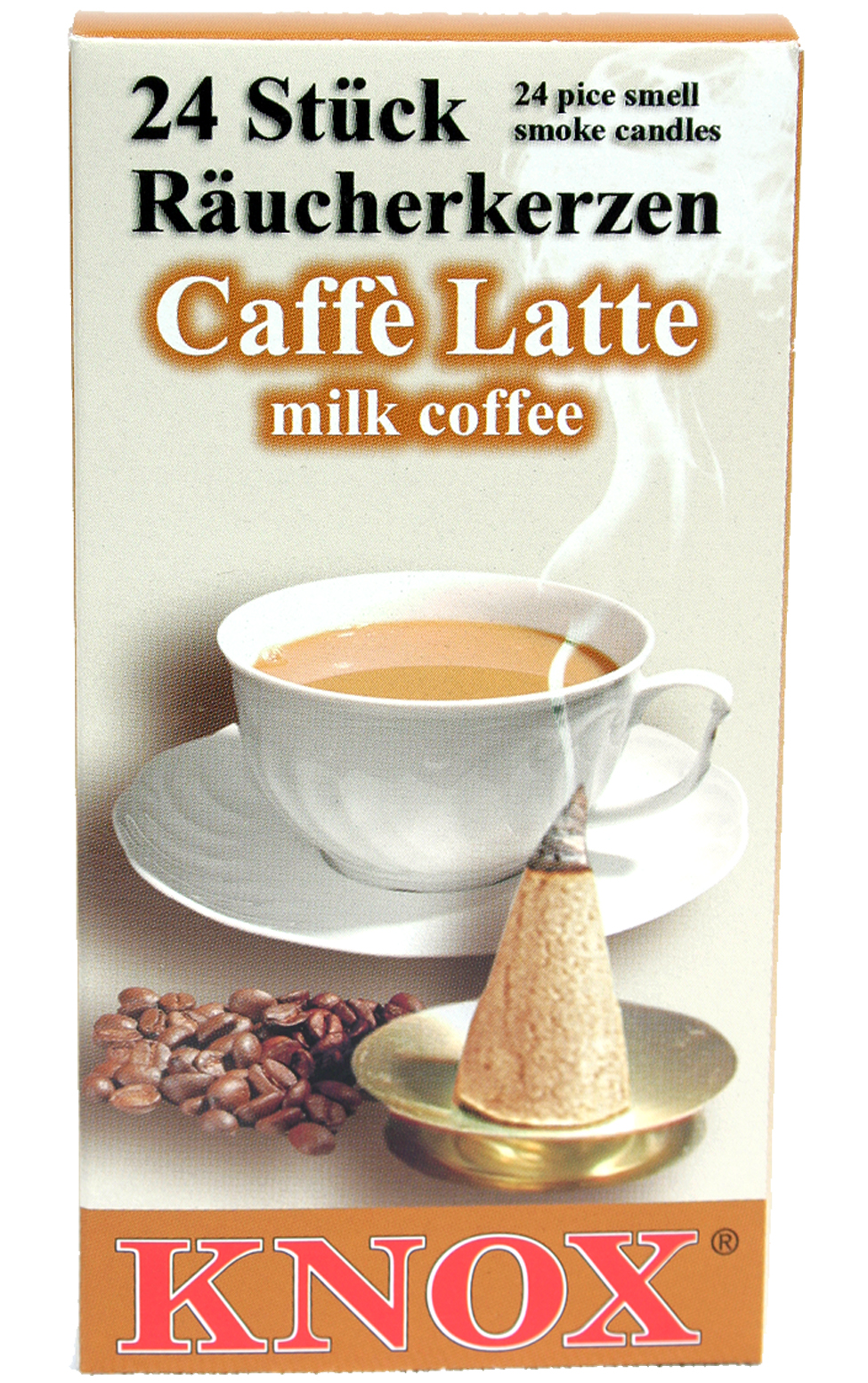013270 Milk Coffee Scented Cone Incense for Smokers
