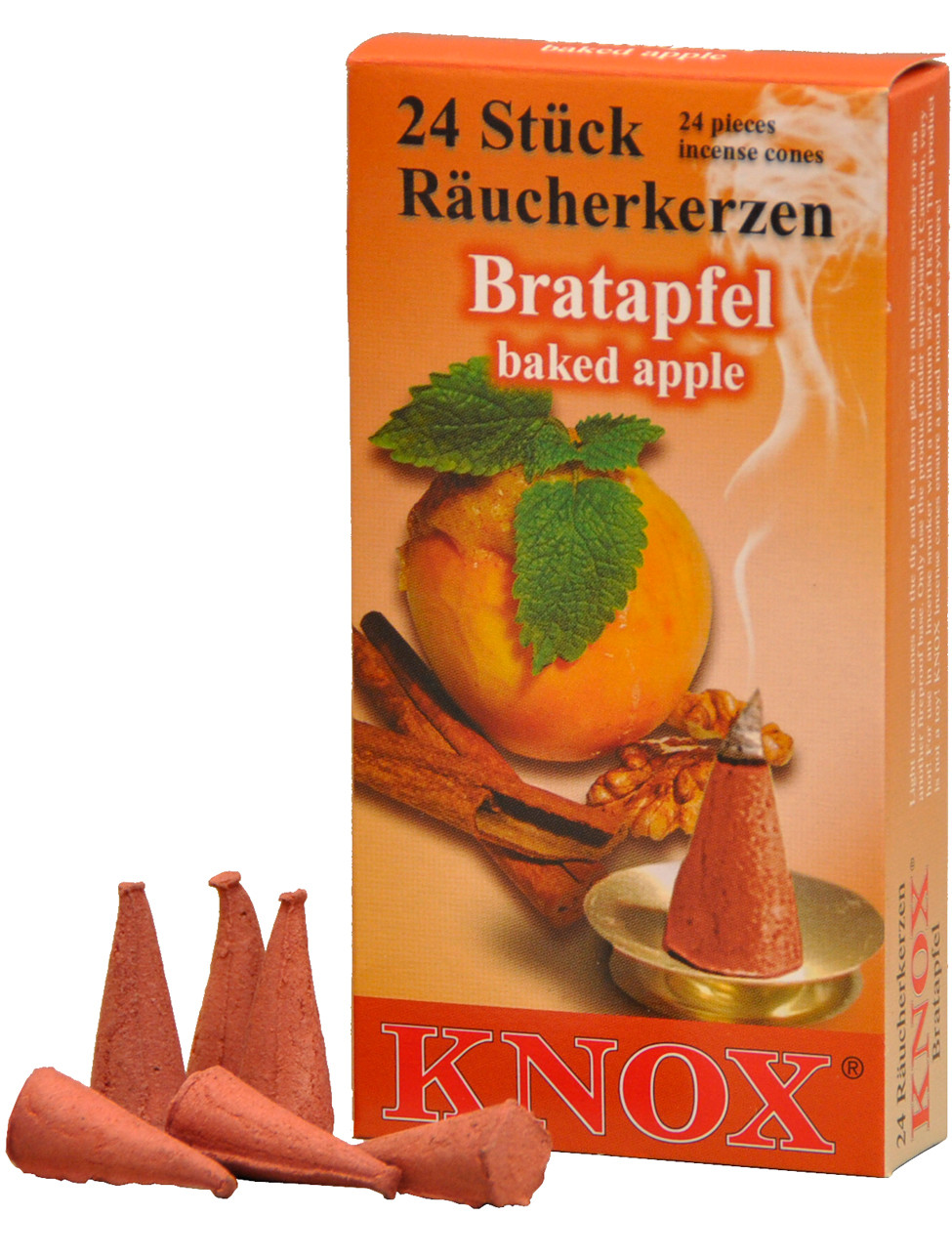 013310 Baked Apple Scented Cone Incense for Smokers