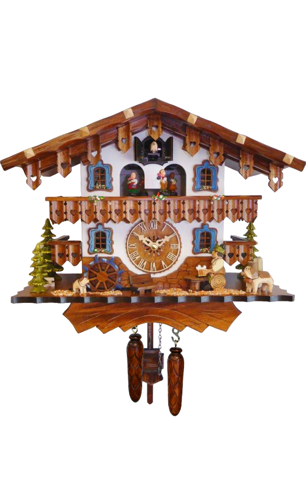 447QMT Swiss Style Chalet with Beer Drinker - Quartz