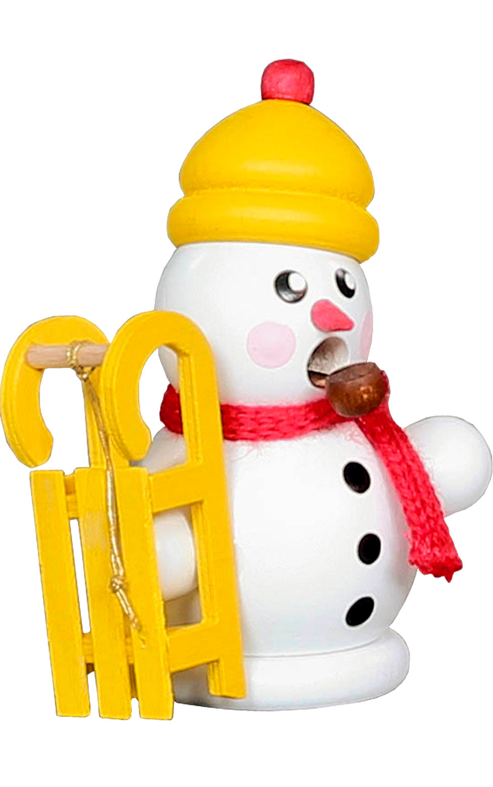 136-170 Mini Snowman with Sled