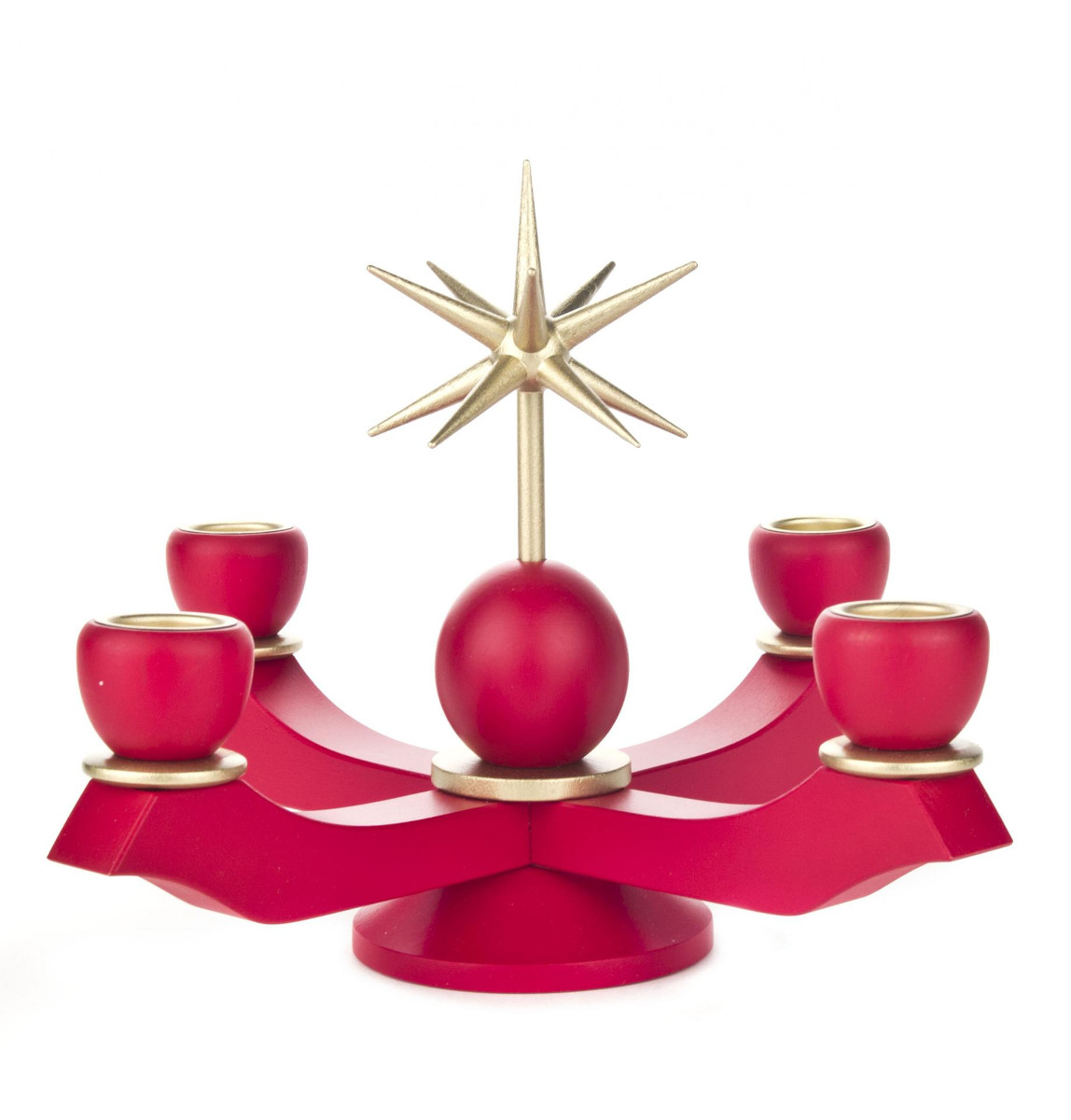 201-105R Red Advent Candle Holder