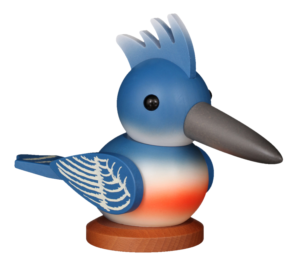 Belted Kingfisher, Ulbricht signing piece