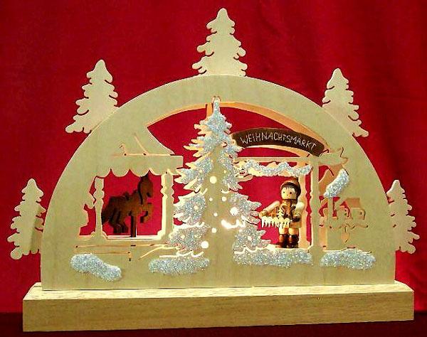 043-b2 Christmas Market Light Arch