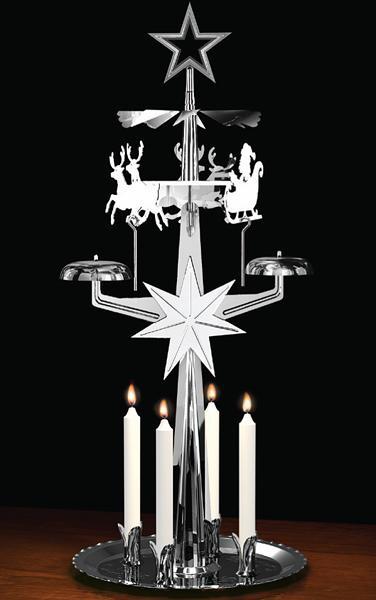 9012n Swedish design Santas Sleigh Christmas Chime