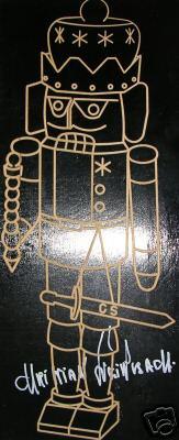 plaque Handsigned Plaque