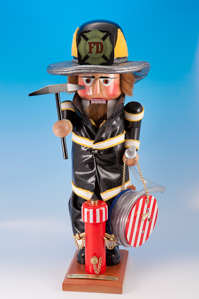 s1785 America's Bravest Fire Fighter<br><span class=note>Hand Signed<br>Plays