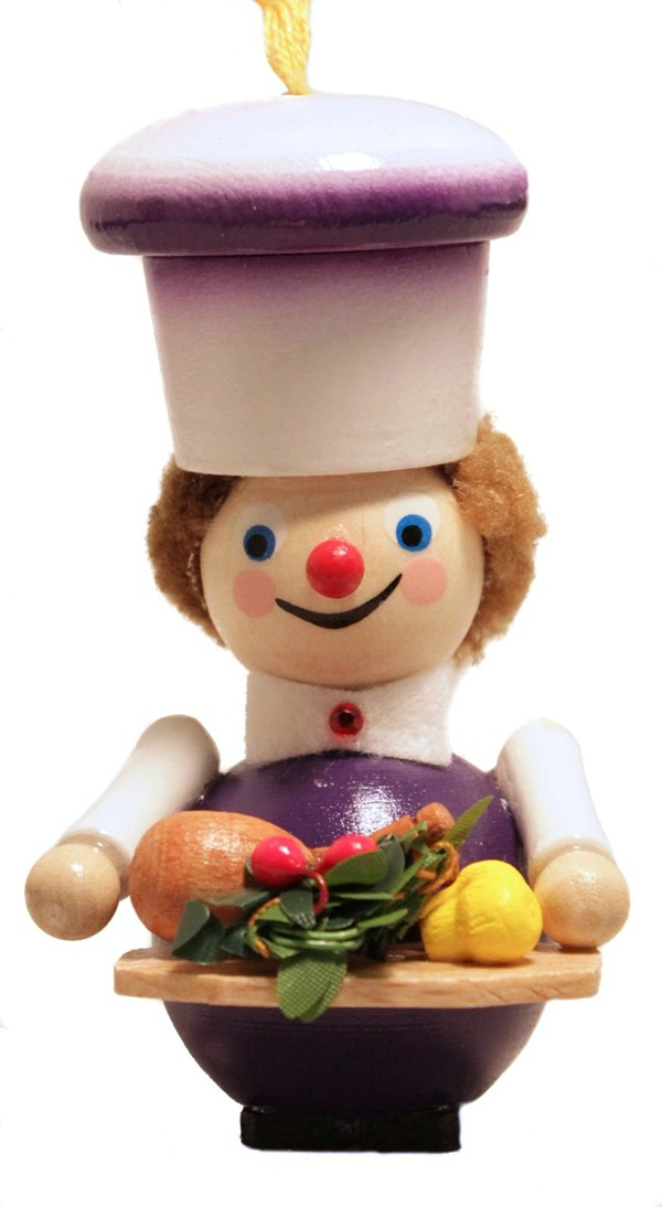 z2917 Thanksgiving Turkey Chef  Ornament