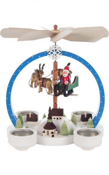 085-842 Pyramid - Santa Flying