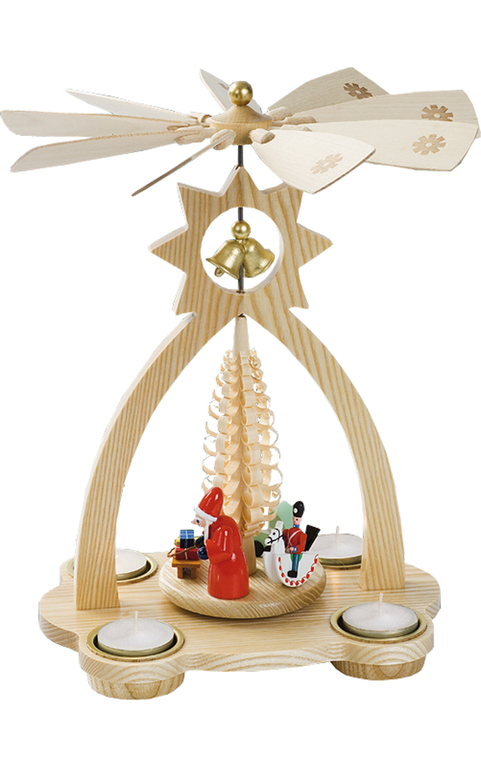 15824 Christmas Bells Pyramid