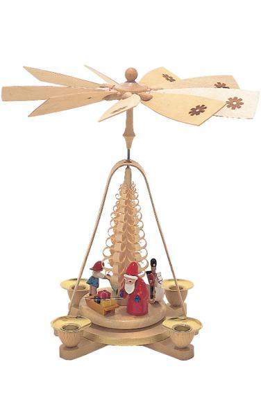 1667 Santa with Toys Pyramid