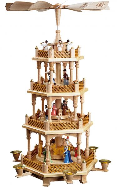 16723 Pyramid - 4 tiers - Nativity Scene