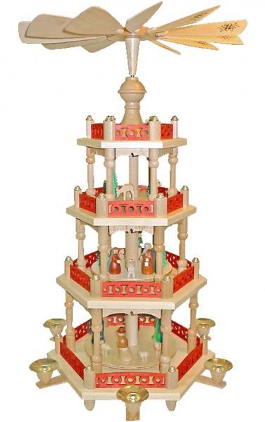 216772 Pyramid - 4 tiers - Nativity