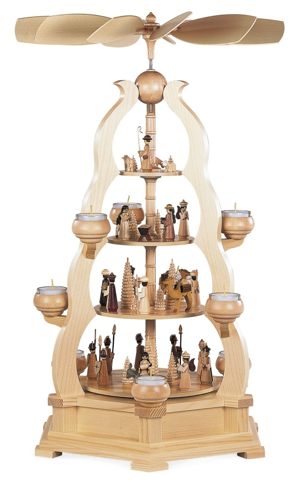 m10690 Arch of Arches Holy History - 4 Tier Pyramid