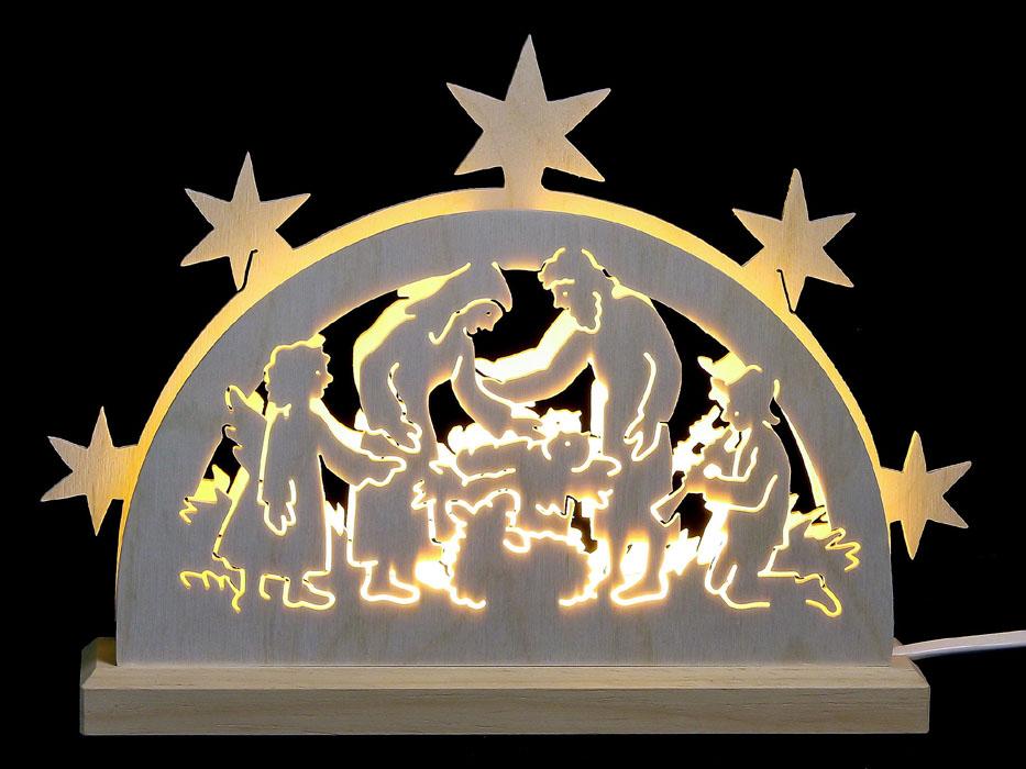 022-s2 Nativity Light Arch
