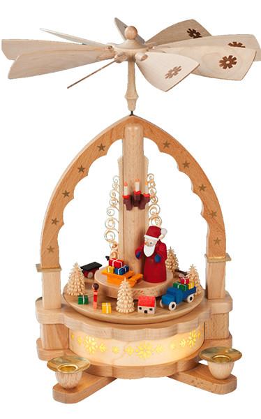 16071 Santa with Toys Pyramid