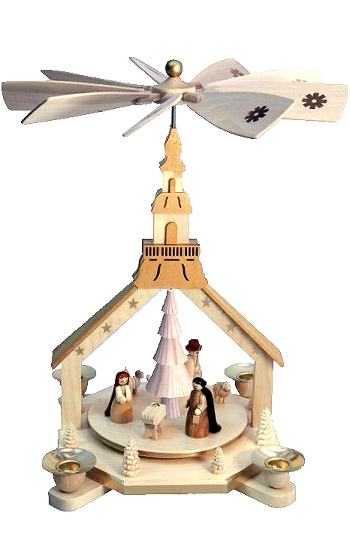 16227 Natural Nativity Pyramid