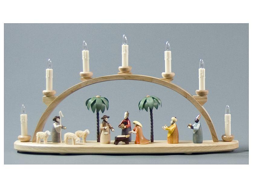 202-264eb Nativity Candle Arch