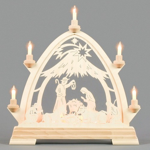 202-666 Nativity Candle Arch