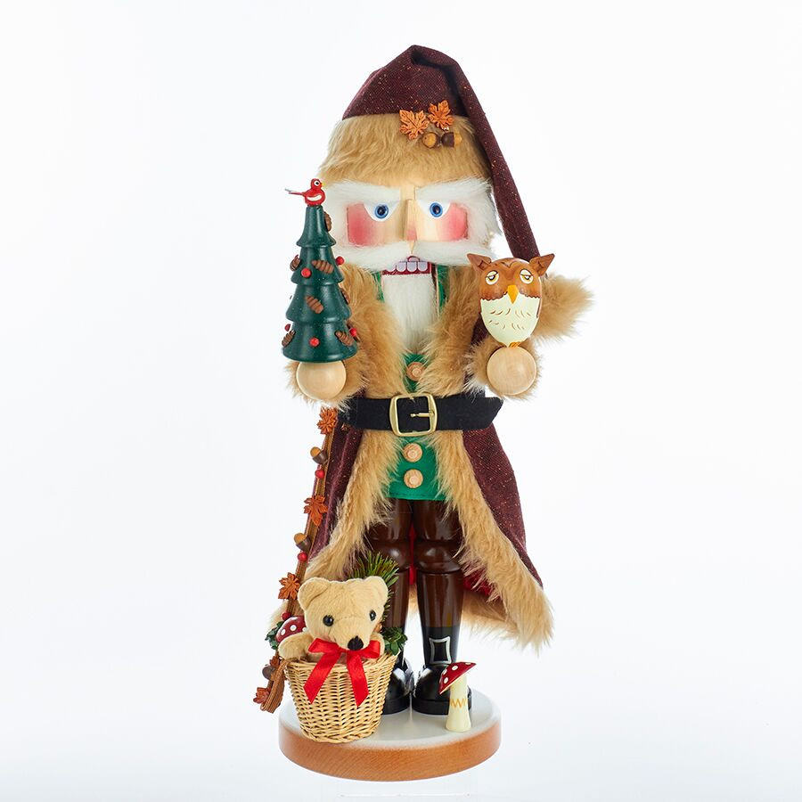 s3000 Woodland Santa with Teddy Bear