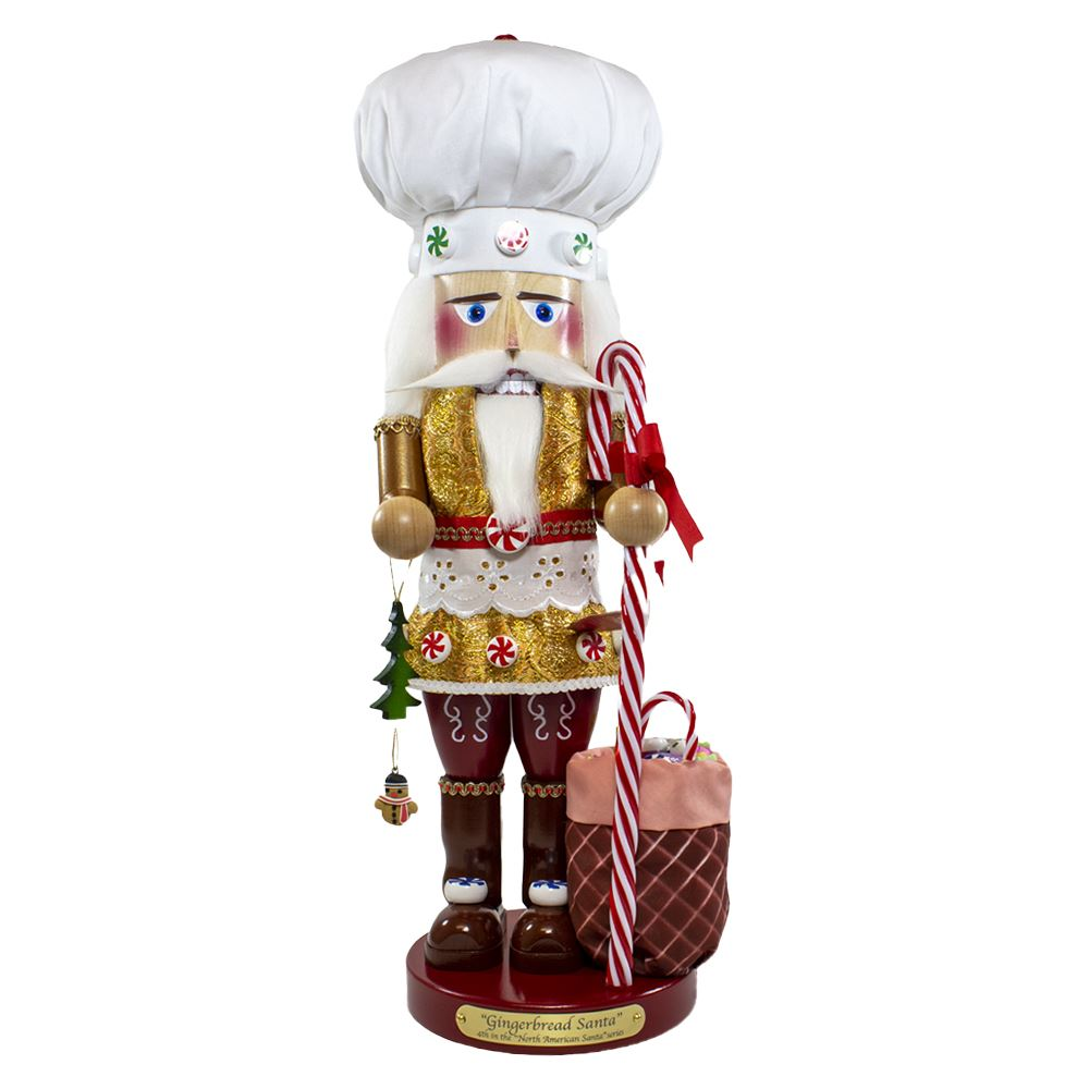 ES3003 Gingerbread Chef Santa