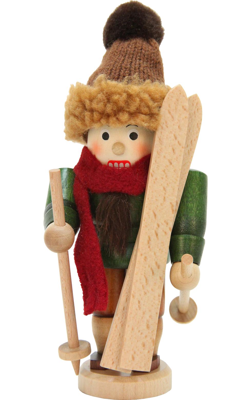 32-608 Mini Skier Nutcracker