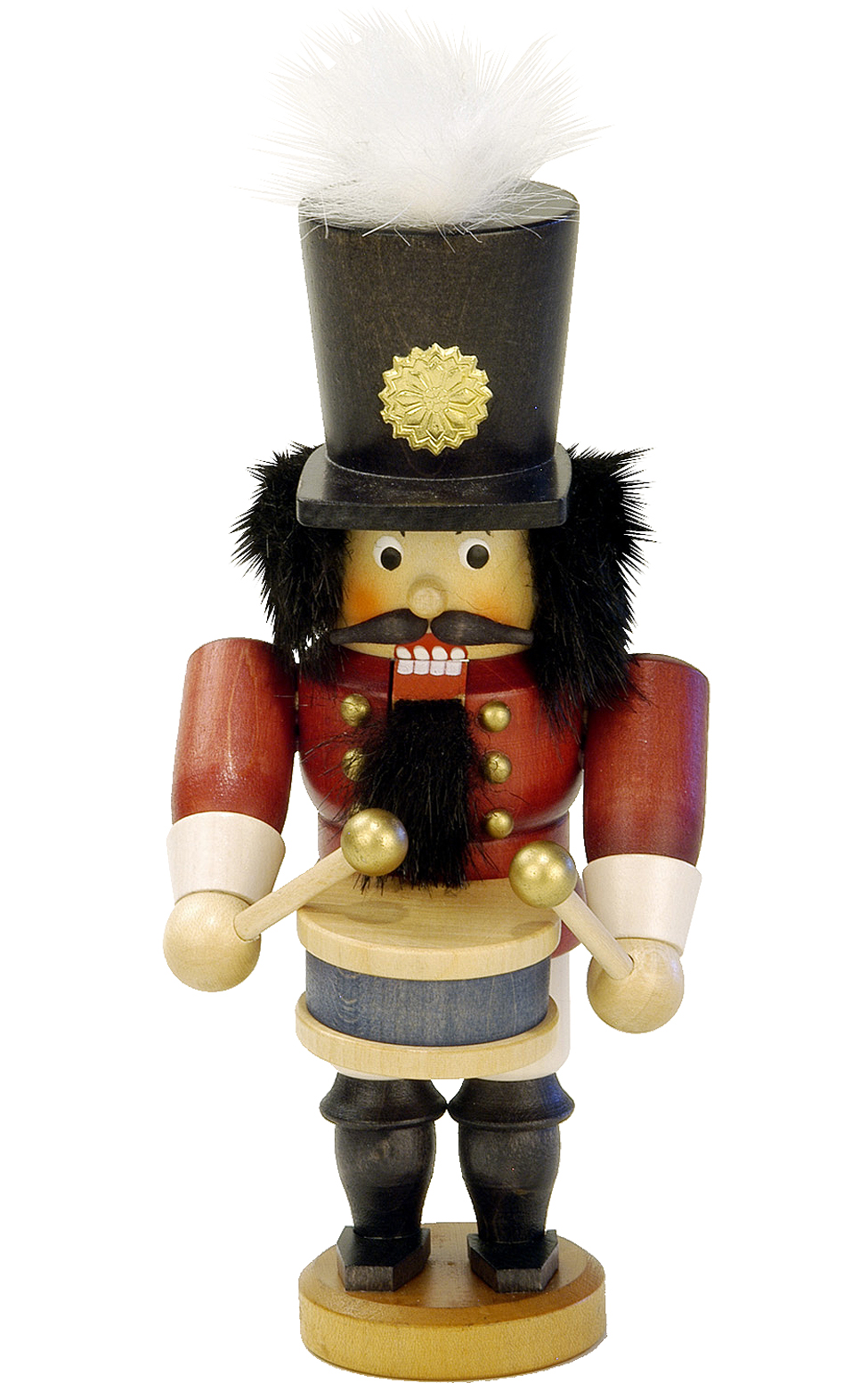 32-611 Mini Drummer Nutcracker