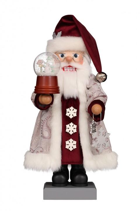0-831 Santa with Snow-Globe
