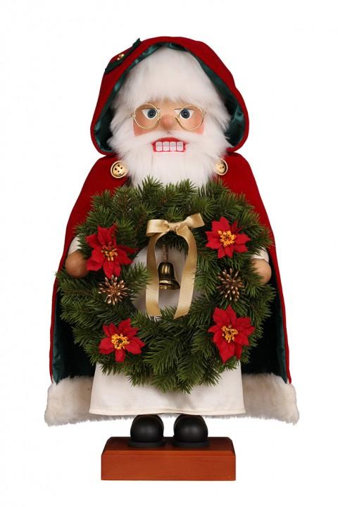 0-832 Santa with Wreath