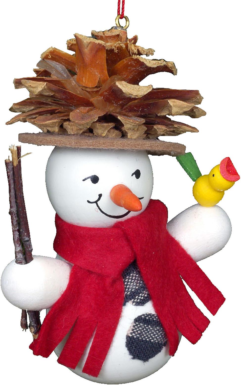 10-0201 Snowman Pinecone