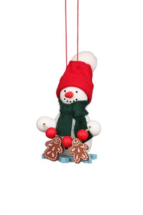10-0270 Gingerbread Snowman Ornament