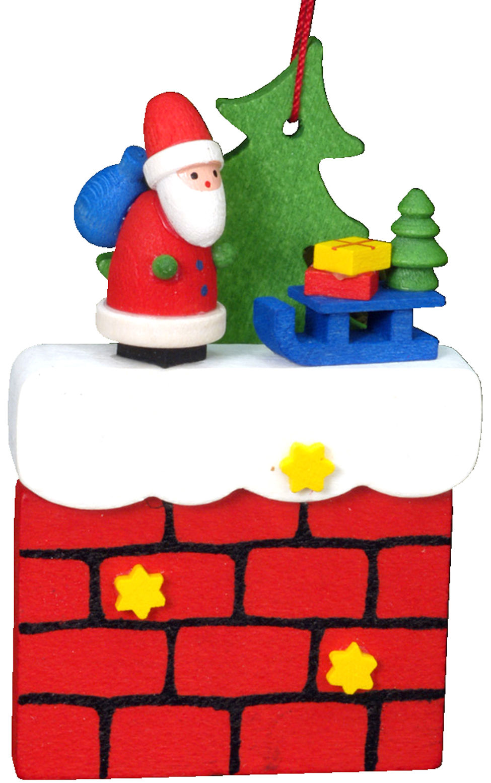 10-0408 Santa with Chimney