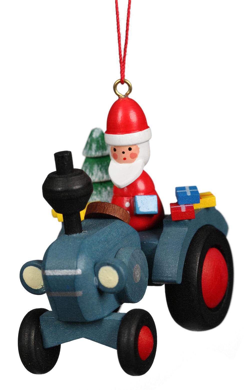 10-640 Santa on Tractor