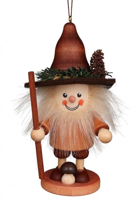 13-0700 Mushroom Man Ornament - Natural
