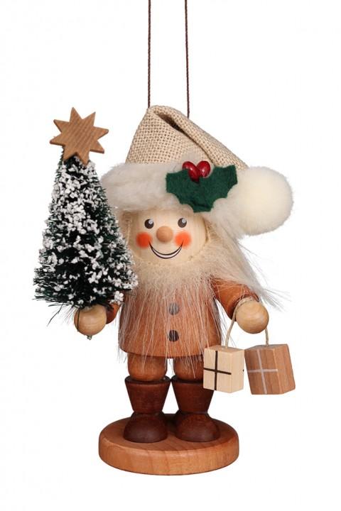 13-0701 Santa with Christmas Tree - Natural