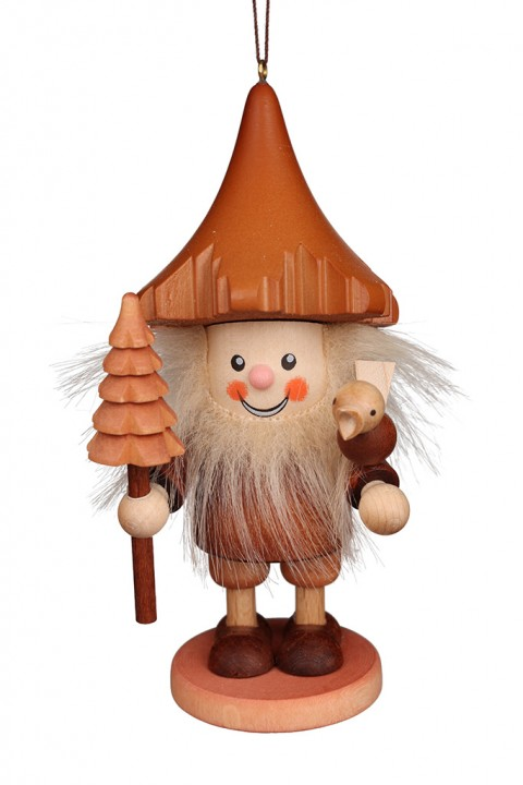 13-0709 Forest Gnome Ornament - Natural