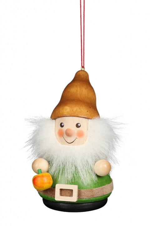 15-0427 Gnome With Apple Ornament