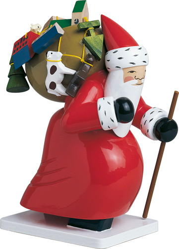 6301-5h Large Santa with Toys