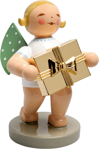 650-120 Well-Wisher Angel With Gift